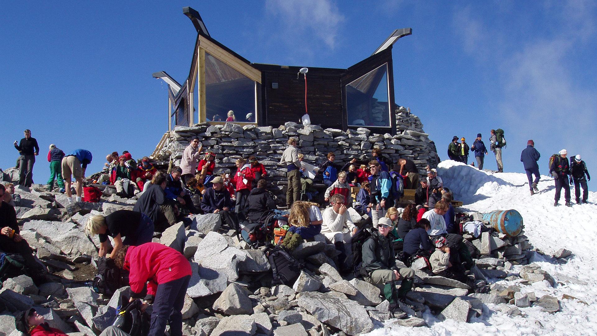 Toppen av Galdhøpiggen